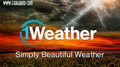 دانلود 1Weather Pro - برنامه هواشناسی کامل اندروید !