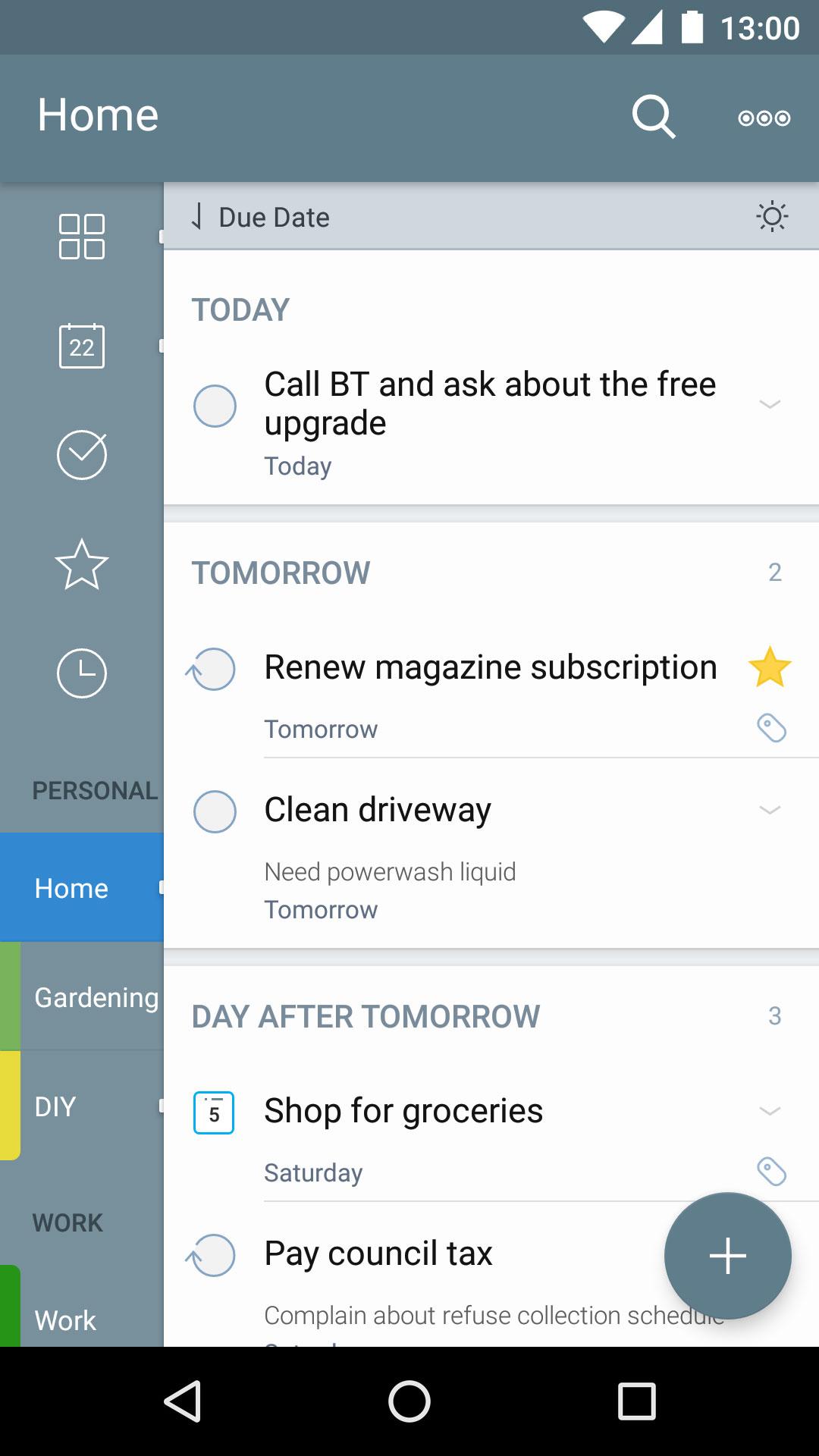 2Do: To do List | Task List Android نرم افزار اندروید