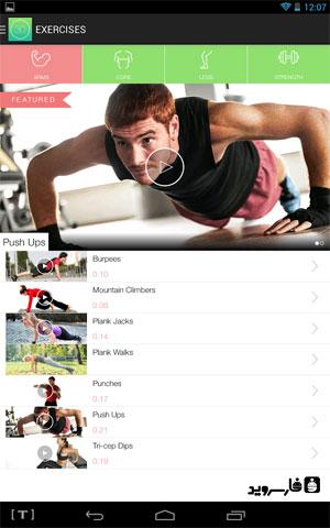 دانلود Thirty Day Fitness Challenges 3.0.2 – برنامه تناسب اندام اندروید