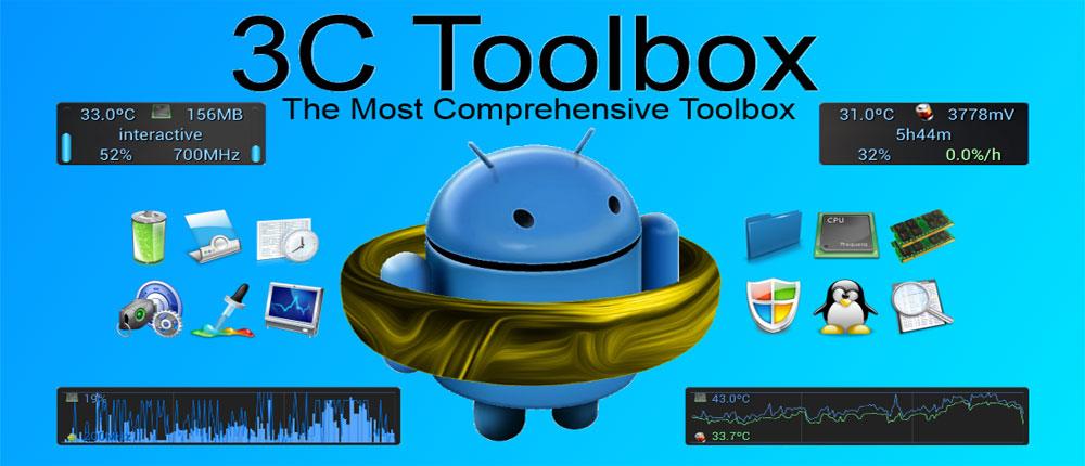 دانلود 3C Toolbox Pro - جامع ترین جعبه ابزار اندروید!