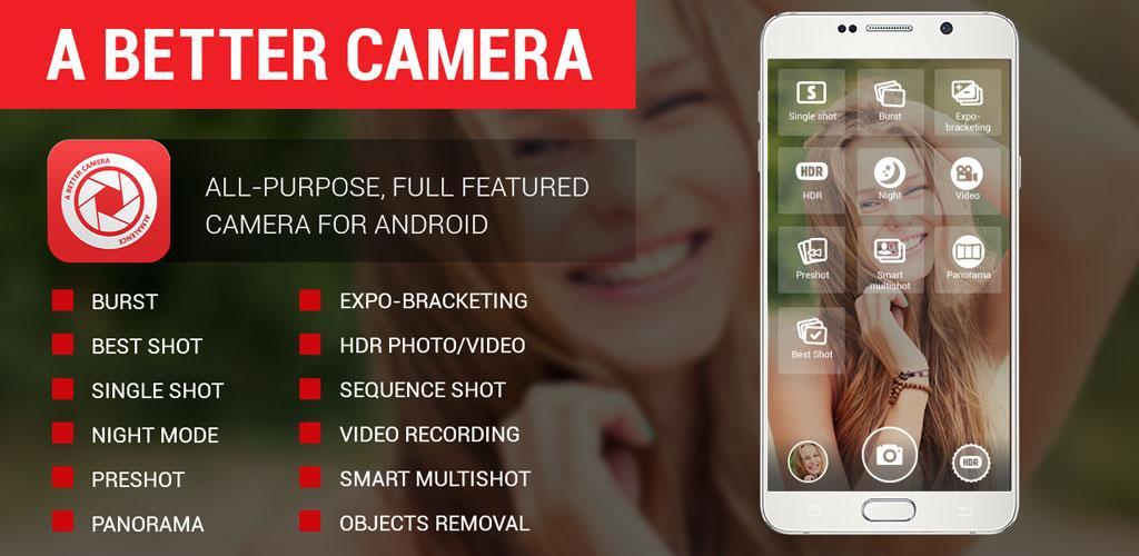 دانلود A Better Camera Unlocked - دوربین همه جانبه اندروید