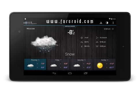 AIO Widgets Android - ویجت های ساعت، باتری، آب و هوا اسمارت فون اندروید
