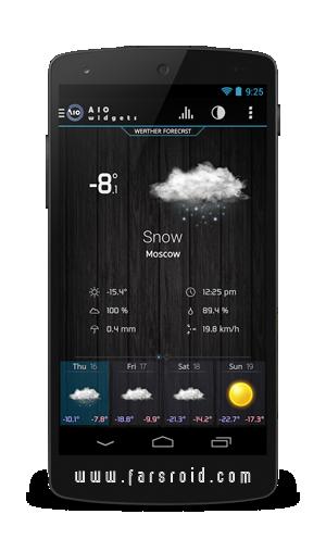 AIO Widgets Android - ویجت های شیک اندروید