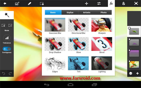 Adobe® Photoshop® Touch & Photoshop Touch for phone