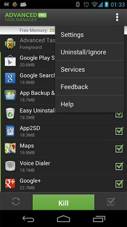Advanced Task Manager Pro Android