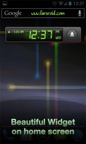 Alarm Clock Pro Android نرم افزار اندروید