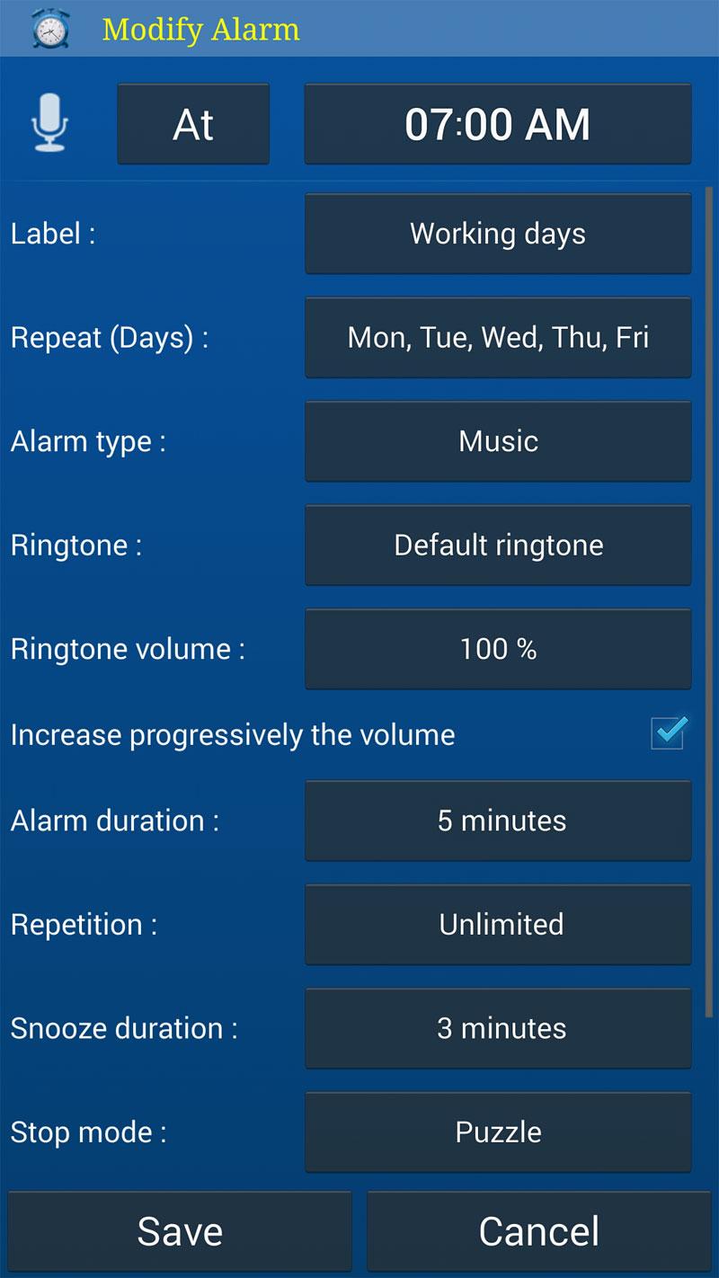 دانلود Alarm Plus Millenium - برنامه آلارم هوشمند میلینیوم اندروید