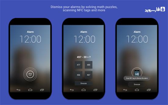 AlarmPad - Alarm clock PRO Android - برنامه ساعت زنگدار اندروید