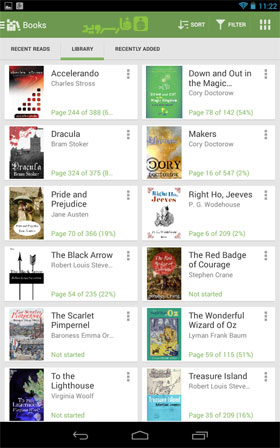 Aldiko Book Reader Premium Android - برنامه اندروید