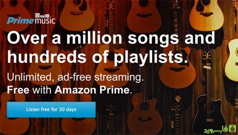 دانلود Amazon Music - اپلیکیشن موزیک آمازون اندروید!
