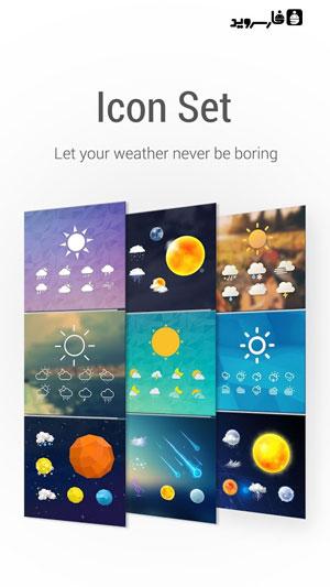 دانلود Amber Weather&Radar Full 4.4.7 – هواشناس عالی اندروید !