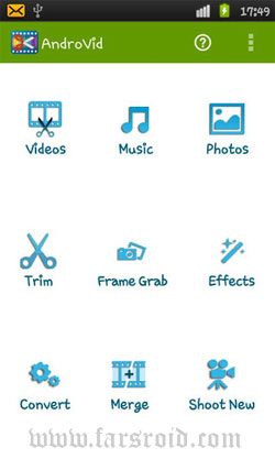 AndroVid Pro Video Editor Android