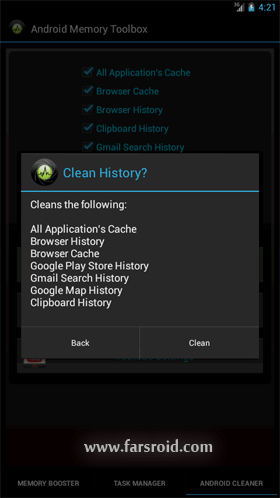 دانلود Android Memory Toolbox 2.0 – جعبه ابزار بهینه ساز حافظه اندروید