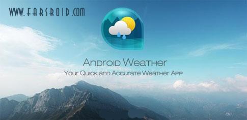 دانلود Android Weather & Clock Widget - ویجت ودر و ساعت اندروید
