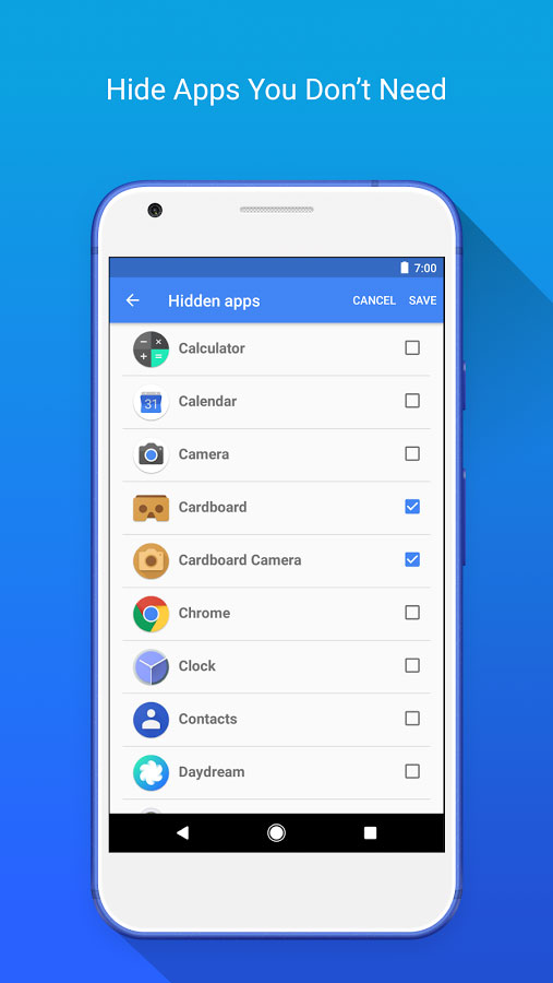 Apex Launcher Android