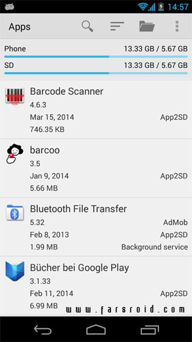 AppMonster Pro Backup Restore Android - جدید اندروید