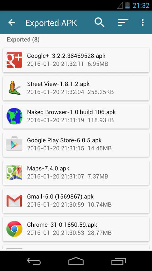 AppWererabbit Backup & Restore Android برنامه اندروید