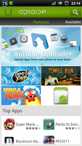 Aptoide Android - برنامه اندروید