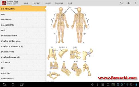 دانلود Atlas of Anatomy - اطلس آناتومی کامل اندروید !