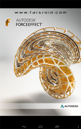 Autodesk ForceEffect Android - نرم افزار اندروید