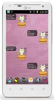 دانلود BathingCat 3.1.0 – ویجت باتری گربه خانگی اندروید