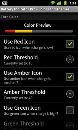 Battery Indicator Pro Screenshot