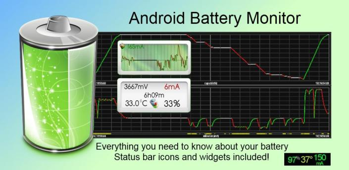 Battery Monitor Widget Pro - the most complete Android battery management application!