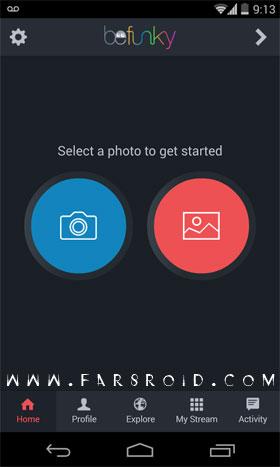 BeFunky Photo Editor Pro Android - نرم افزار اندروید
