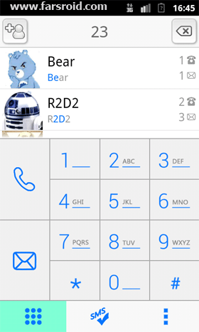 BearContact Android نرم افزار اندروید
