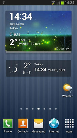 Beautiful Weather and Widgets Android