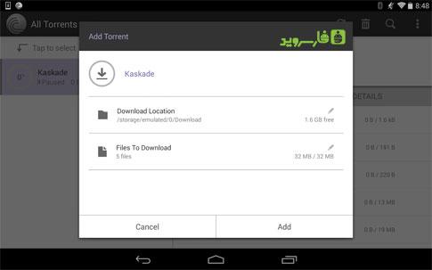 BitTorrent® Pro - Torrent App Android - برنامه جدید اندروید