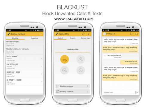 Download BlackList Pro Unlocked Android - New Free Google Play