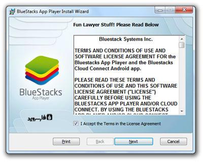 مرحله دوم نصب نرم افزار BlueStacks - تصویر 2