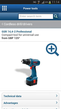 Bosch Toolbox Android