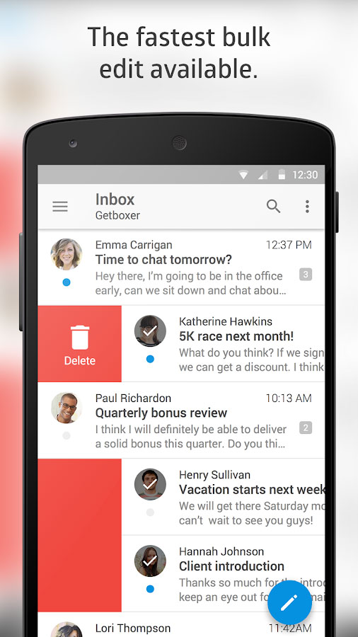 Boxer Pro - Free Email Inbox App Android