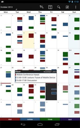 Business Calendar Pro Android برنامه اندروید