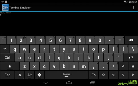 C4droid - C/C++ compiler & IDE Android - برنامه رایگان اندروید