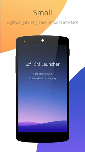 CM Launcher Small & Secure Android