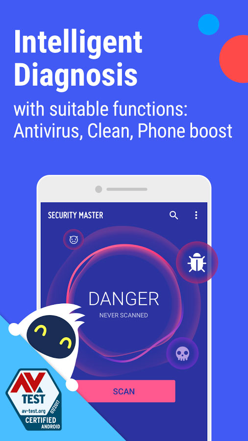 CM Security – Antivirus FREE Android آنتی ویروس اندروید