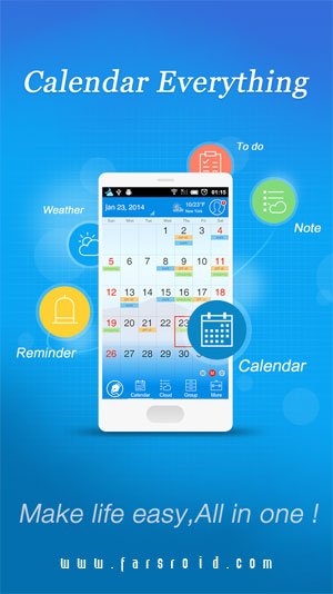 Download Calendar+ Note Everything Android Apk - Google Play