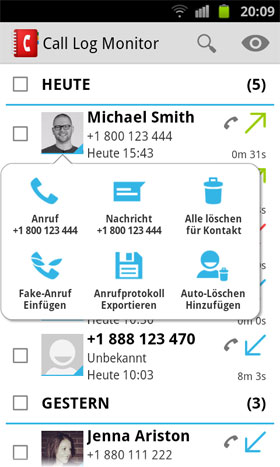 Call Log Monitor Android - برنامه اندروید
