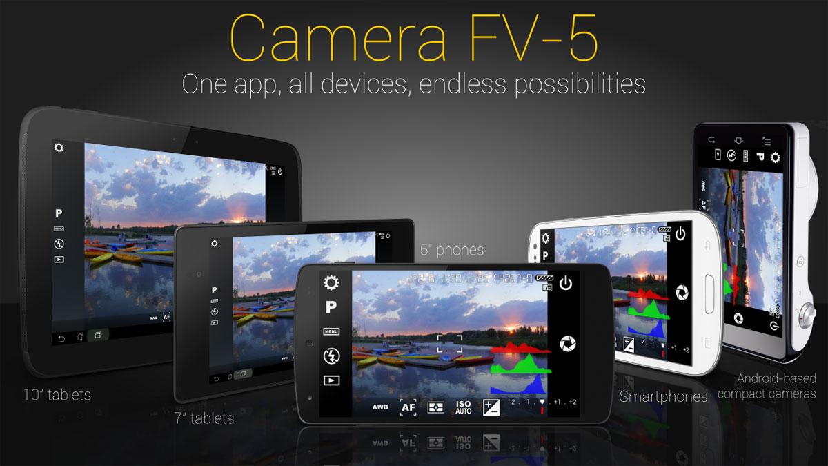 دانلود Camera FV-5 - برنامه دوربین حرفه ای اندروید