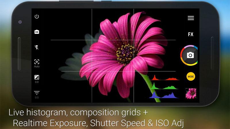 دانلود Camera ZOOM FX Premium 6.3.0 - بهترین برنامه دوربین اندروید + پلاگین ها