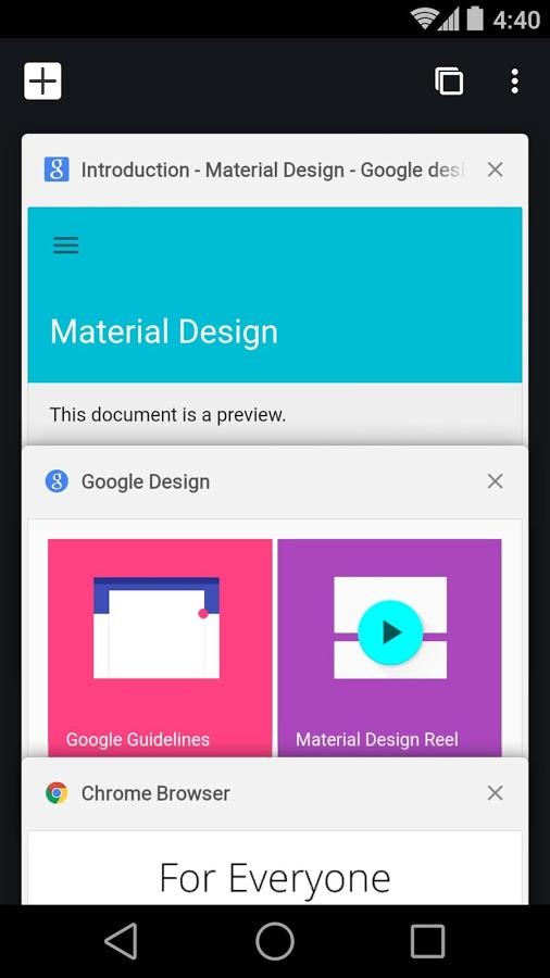 Chrome Beta Android - برنامه اندروید