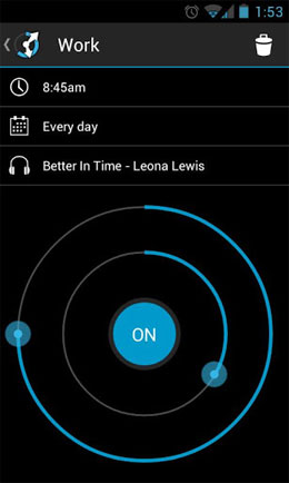 Circle Alarm Android