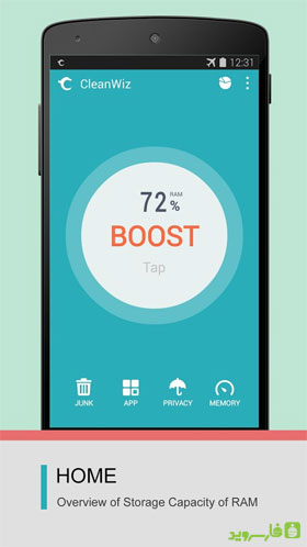 CleanWiz (Toolwiz Cleaner) Android