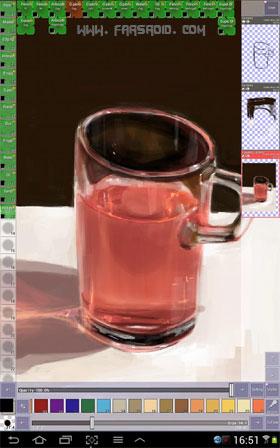 Clover Paint Android برنامه نقاشی اندروید