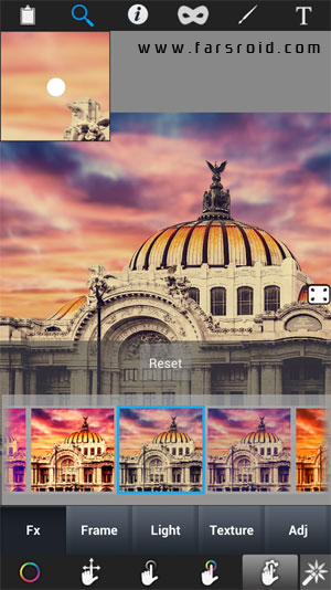 Color Effect Booth Pro Android - برنامه ویرایش عکس اندروید