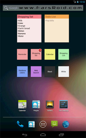 ColorNote Notepad Notes Android برنامه اندروید