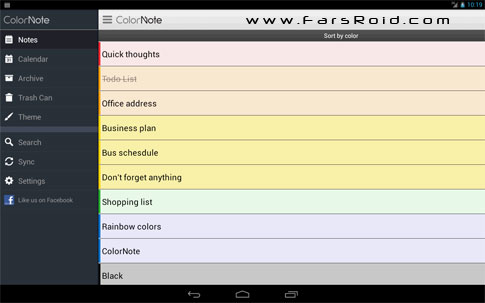 Download ColorNote Notepad Notes Android Apk - NEW FREE